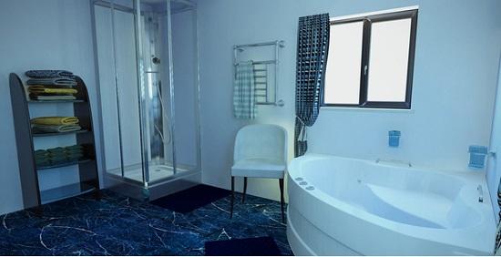 8 mẫu phòng tắm kính nhỏ đẹp dành riêng cho ngôi nhà chật chội