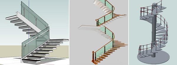 Kinh nghiệm giúp bạn lắp đặt cầu thang kính đẹp, hợp phong thủy