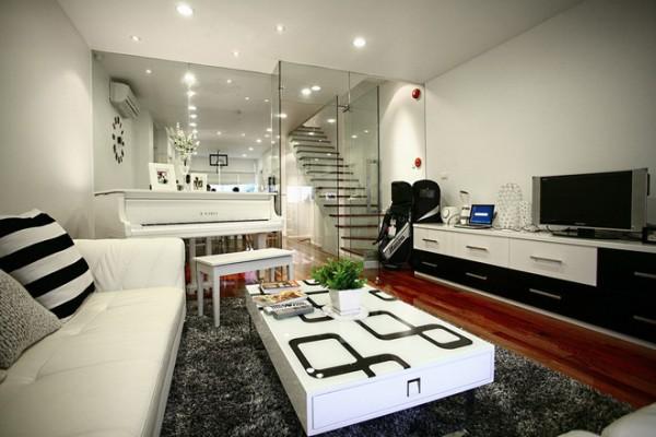 Cầu thang kính cường lực giải pháp tối ưu cho những căn hộ nhỏ