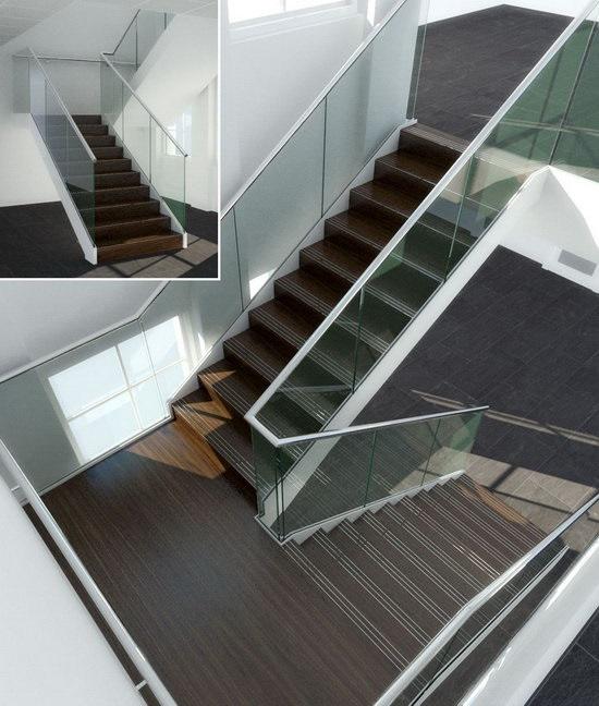 Những điểm cần lưu ý để thiết kế cầu thang kính cường lực đẹp