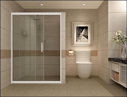 Phòng tắm kính cửa lùa - Tiết kiệm tối đa cho không gian sử dụng