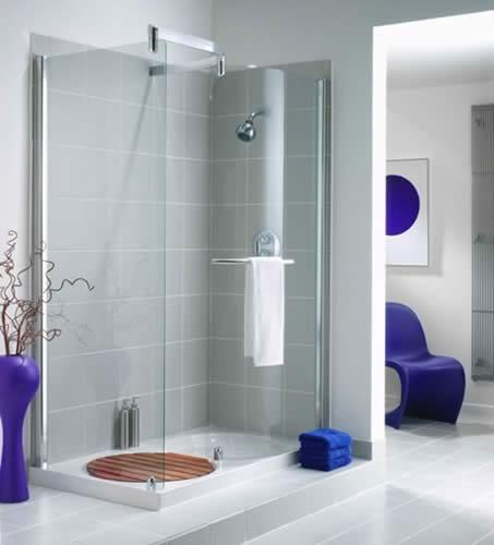 Phòng tắm kính trong phòng ngủ xu hướng thiết kế mới hiện nay
