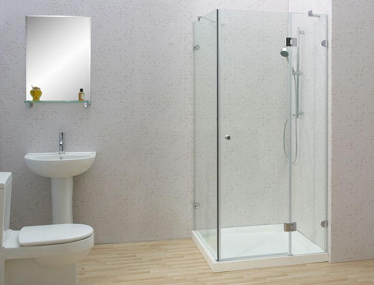 phòng tắm kính nhỏ gọn