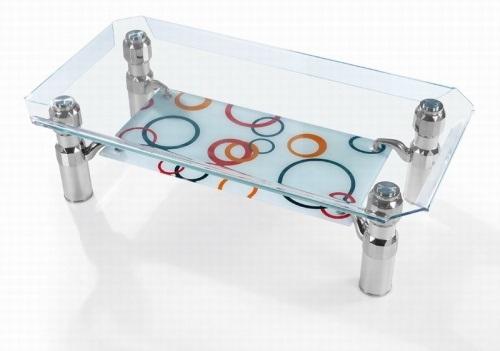 Sử dụng kính cường lực làm mặt bàn