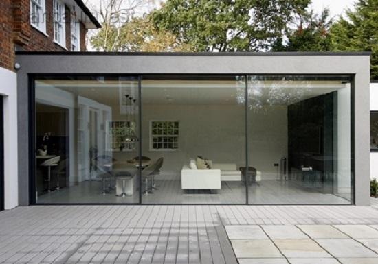 Xu hướng lắp đặt cửa nhôm kính sơn tĩnh điện cho ngôi nhà hiện đại