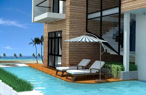 Xây biệt thự nghỉ dưỡng hướng biển