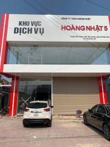Thi Công Kính Việt Nhật Showroom Honda Hoàng Nhật 5