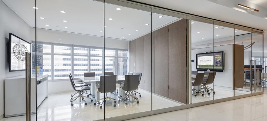 Vách ngăn kính văn phòng: 3 lí do không thể bỏ qua - VIET NHAT GLASS